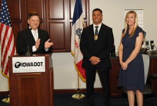 Ridout sworn in as MVE Chief