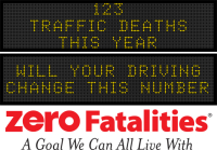 Message Monday - will your driving change this number?