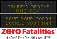 Message Monday - Save your bacon, buckle your ham