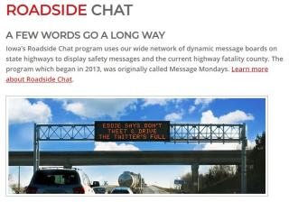 Roadside chat 1