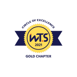 Gold chapter logo