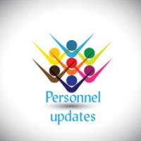 Personnel updates forSeptember 3 to September 16, 2021