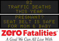 Message Monday- Pregnant? Seat belt is safe for mom and baby