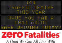 Roadside Chat - Have you had a chat about safe driving today?