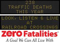 Roadside Chat: Look, listen & live at railroad crossings