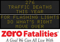 Roadside Chat - For flashing lights, do what's right. Move over.